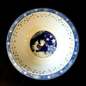 4 Noritake Epoch Mr Snowman Cereal Bowls